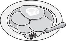 Free Pancakes Royalty Free Stock Photo - 2976845