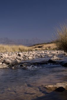 Free Drakensberg Stream Stock Photography - 2977252
