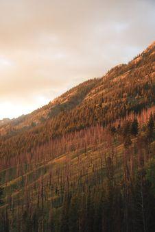 Free Mountainside Sunset Stock Photo - 2977320