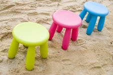 Free Colourful Chairs Stock Photography - 2978492