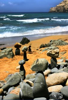 Free Stones At The Sea Stock Photo - 2978870