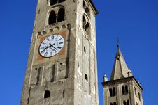 Free Very Old Tower, Aosta, Italy Royalty Free Stock Photo - 2978935