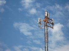 Free Top Antena On Blue Sky Stock Photos - 2979223