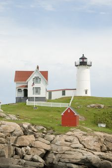 Free Nubble Lighthouse Stock Photo - 2979680