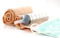 Free Single Plastic Syringe Stock Photos - 29704153