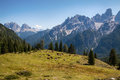Free The View Of Dolomiti Mountain Royalty Free Stock Images - 29704159
