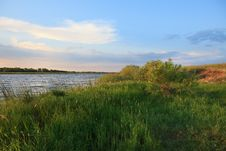 Early Summer Morning On The Lake. Royalty Free Stock Photography