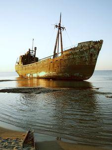 Free Ship Wreck M/V Dimitrios Stock Photography - 29701762