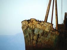 Free Ship Wreck M/V Dimitrios Royalty Free Stock Photos - 29701908