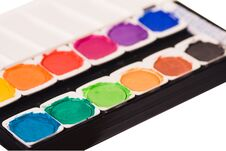 Free Watercolor Paints Stock Photos - 29704653