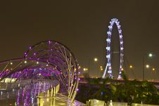 Free Singapore Flyer11 Royalty Free Stock Photo - 29706405