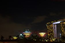 Garden By The Bay5 Stock Image