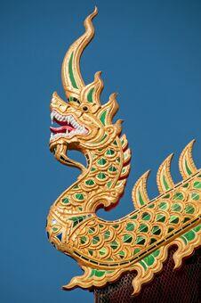 Free Cho Fa Temple Roof Stock Photo - 29707980