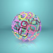 Free Abstract Globe Sphere. Stock Images - 29708974