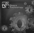 Free Gears On Mesh & Text Royalty Free Stock Photography - 29714547