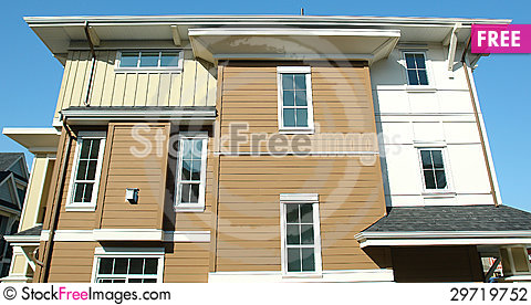 Free Modern Home House Stock Photography - 29719752