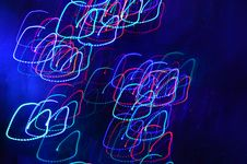 Free Abstract Lights On Dark Blue Background Stock Photos - 29712753