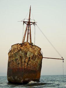 Free Ship Wreck M/V Dimitrios Stock Photo - 29712760