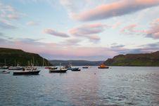Free Portree Harbour, Scotland Royalty Free Stock Photos - 29716708