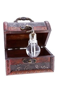 Free Treasure Chest With An Idea Royalty Free Stock Image - 29719686