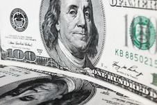 Free Close Up Of Dollar Bill Royalty Free Stock Photos - 29719858