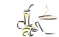 Free French Healthy Breakfast Stock Photo - 29720730