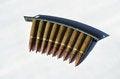 Free Machine Gun Bullets Stock Image - 29725291