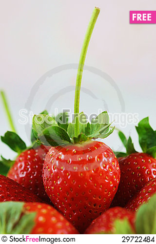 Free Strawberries Close-up Stock Images - 29722484