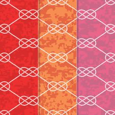 Free Set Of Three Seamless Figure 8 Background Patterns Stock Photos - 29721953