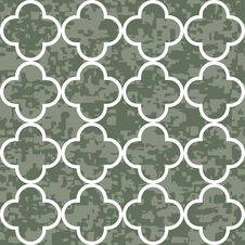 Free Seamless Clover Pattern Background Stock Photography - 29722182