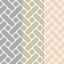Seamless Basket Weave Background Pattern Stock Image