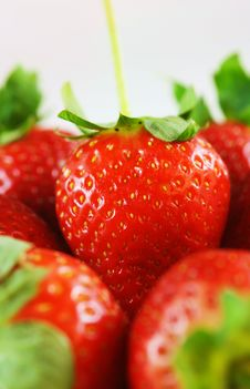 Free Strawberries Close-up Royalty Free Stock Photos - 29722438