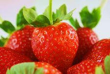Free Strawberries Close-up Stock Image - 29722461