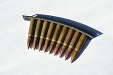 Free Machine Gun Bullets Stock Image - 29725291