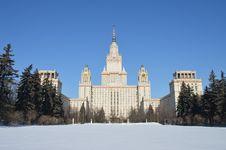 Free Moscow University Royalty Free Stock Photos - 29725898