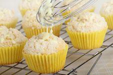 Free Lemon Muffins Royalty Free Stock Image - 29729746