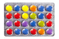 Free Blister With Multi Colored Pills Stock Photography - 29732902