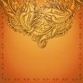 Free Indian Henna Background Royalty Free Stock Photos - 29733398