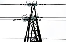 High Voltage Electrical Tower Stock Images