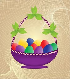 Free Easter Basket Royalty Free Stock Images - 29732499