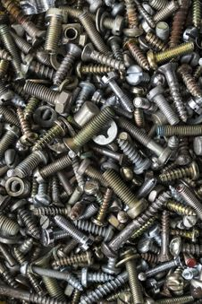 Free Screws Stock Photography - 29732822