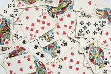 Free Playing Cards Royalty Free Stock Images - 29732929