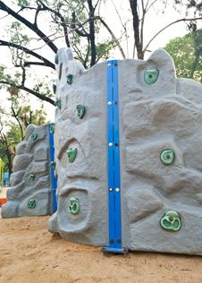Free Rock Climbing Wall Stock Photography - 29737552
