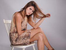 Free Teen Model In Tan Stock Photo - 29738330