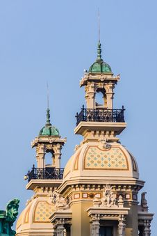 Free Turrets Of Monte Carlo Casino Stock Photos - 29739353