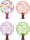 Free Abstract Seasonal Tree Royalty Free Stock Image - 29740586