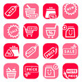 Free Color Online Shopping Icons Royalty Free Stock Image - 29741496