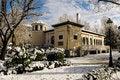 Free Snow Storm With Slush On Sidewalks. Granada Stock Photos - 29746163