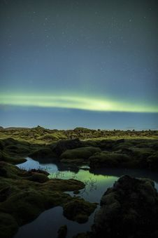 Free Northern Lights In Iceland Royalty Free Stock Images - 29741559