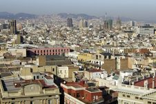 Free View On Barcelona Stock Photography - 29742412